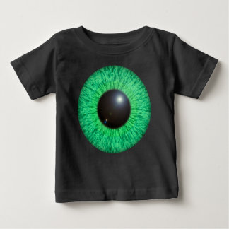 Green Blue Eye With Flare Baby Tee