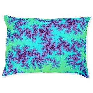 Green blue ombre fractal