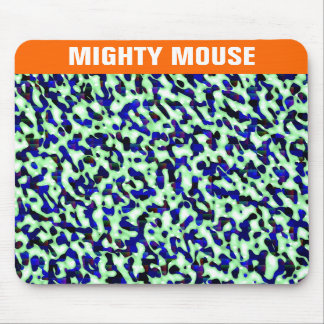 Green Blue Spots Mousepad
