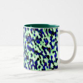 Green & Blue Spots Mug
