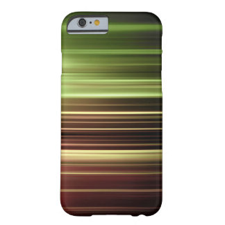Green blurred lines pattern barely there iPhone 6 case