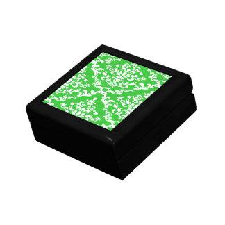 Green Bold Damask Emporiomoffa Gift Box