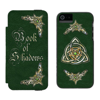 Green Book of Shadows Incipio Watson™ iPhone 5 Wallet Case