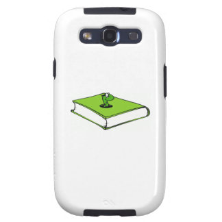 Green Book Worm Samsung Galaxy S3 Cover