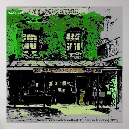 Green Bookshop Posters