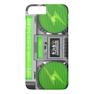 Green boombox iPhone 7 plus case