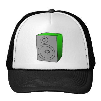 Green BOOMBOX Mesh Hat