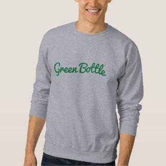 Green Bottle brand sweatshirt (green on grey)