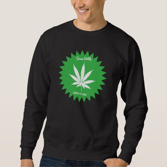 green bottle sweater