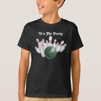 Green Bowling Party Tees