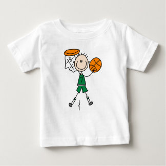 Green Boy Basketball Player t-shirts and Gifts