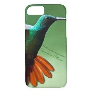 Green-breasted Mango iPhone 8/7 Case