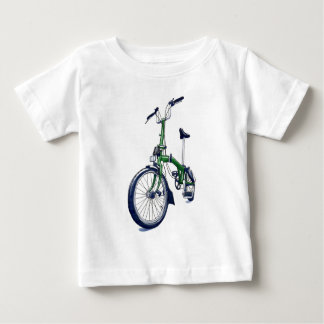 Green Brompton bicycle Baby T-Shirt