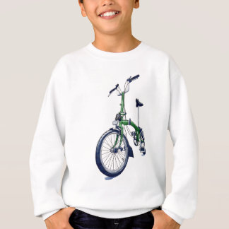 Green Brompton bicycle Sweatshirt