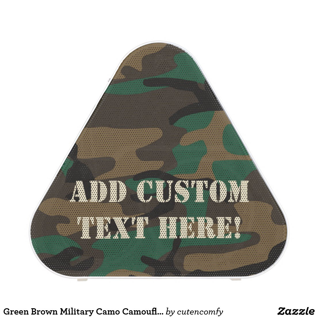 Green Brown Military Camo Camouflage