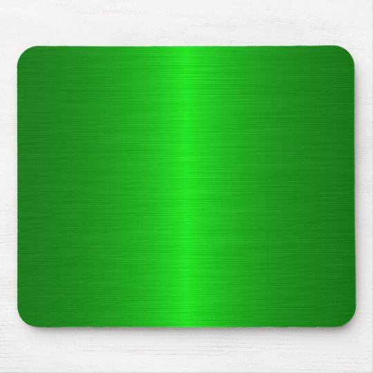 green brushed mouse mat