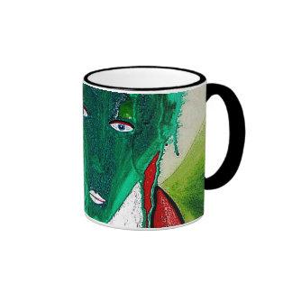 GREEN BRUXA RINGER COFFEE MUG