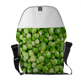 Green Bryssel-kål Courier Bags