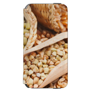 Green Buckwheat, Wheat, Oat And Mung - Cereal Incipio Watson™ iPhone 6 Wallet Case