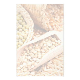 Green Buckwheat, Wheat, Oat And Mung - Cereal Stationery