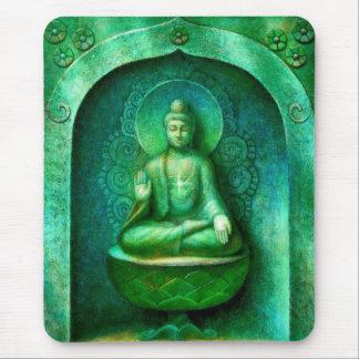 Green Buddha Mouse Mat