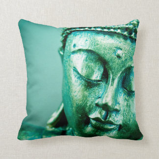 Green Buddha Pillow