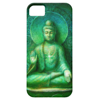 Green Buddha Zen Meditation iPhone 5 Case