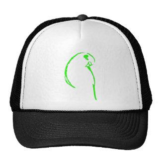Green Budgie Cap