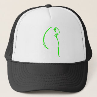 Green Budgie Trucker Hat