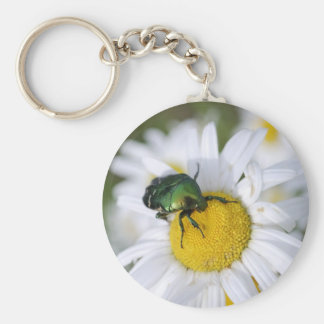 Green Bug Keychain