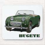 Green Bugeye Mouse Mats