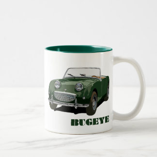 Green Bugeye Two-Tone Coffee Mug