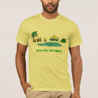 Green Bus Adventures Camp Out T-Shirt