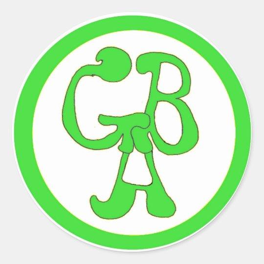 Green Bus Adventures - GBA - Green Sticker
