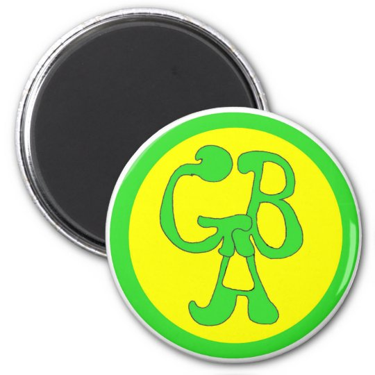 Green Bus Adventures - GBA Magnet