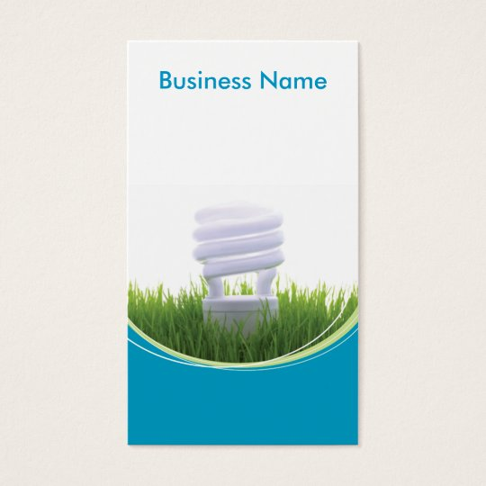 Green Business - custom Business Card