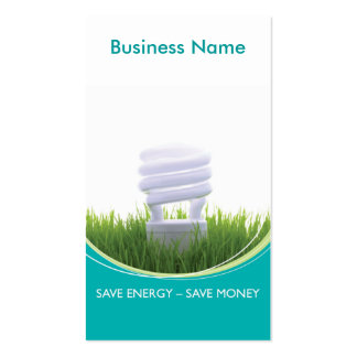 Green Business - Energy Business Cards