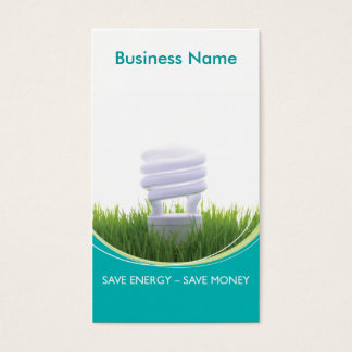 Green Business - Energy Business Card