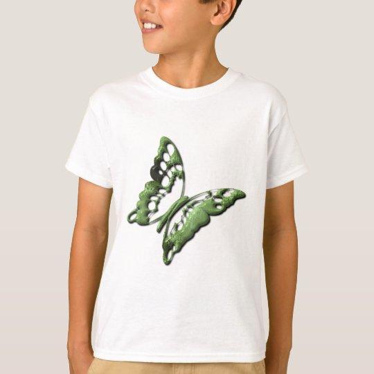 Green Butterfly Designs Children's T-Shirt