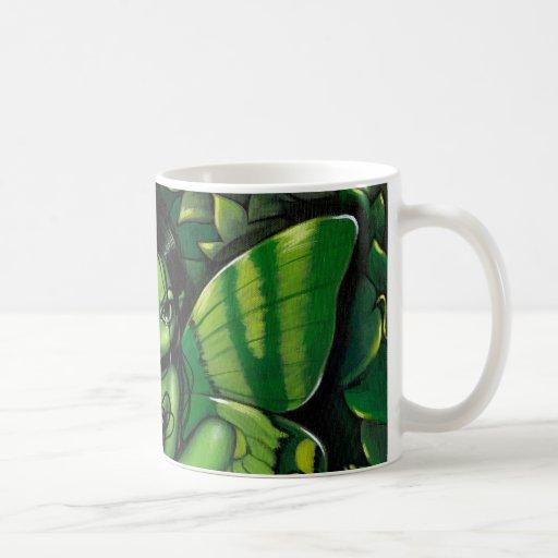 """""""Green Butterfly Fantasy"""" Mug"""