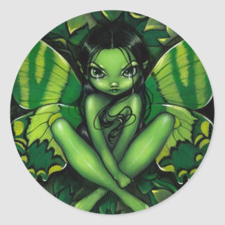 """""""Green Butterfly Fantasy"""" Sticker"""