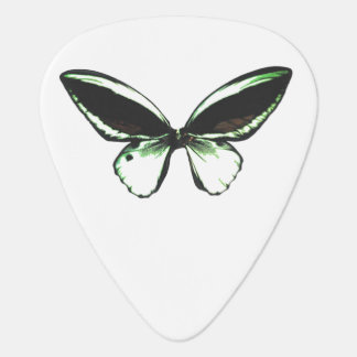 Green Butterfly Guitar Pick