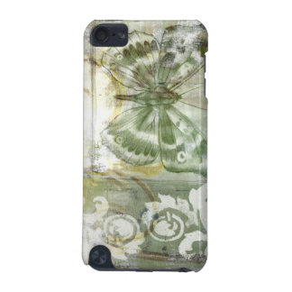 Green Butterfly Inset with Ironwork Gate iPod Touch 5G Case