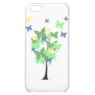 Green Butterfly Tree iPhone 5C Case