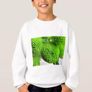 Green Button mums Sweatshirt