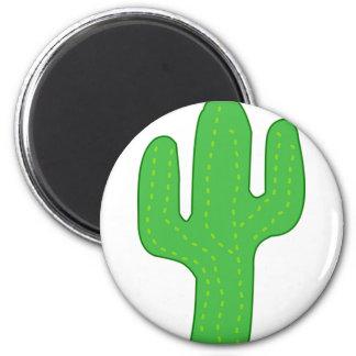 Green Cactus Magnet