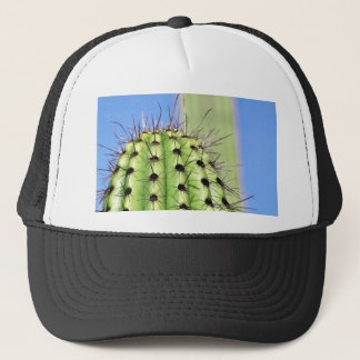 Green Cactus Thorns Trucker Hat