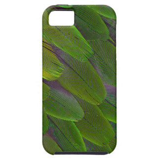 Green Caique Parrot Feather Design iPhone 5 Cases