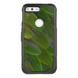 Green Caique Parrot Feather Design OtterBox Commuter Google Pixel Case