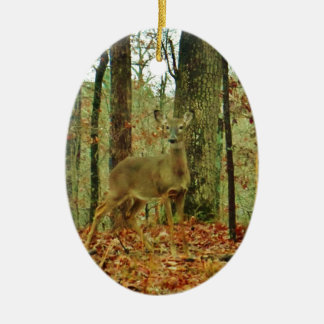 Green Camo,Camouflage Deer Christmas Ornament